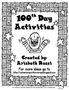 Here's a set of 4 activities for the 100th day. Also includes a parent letter and certificate for students.