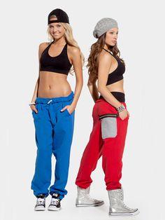 Girls Harlem Hip Hop Pants - Style No SS8050C