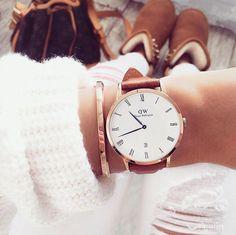 #brown#details#dw#watch#danielwellington#whiteandbrown kochani na hasło DWjanetka ,-15 %znizki na zegarki i akcesoria @danielwellington ,znika wazna do 15.01.2017