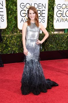 <b>Best Silver: Julianne Moore -my Fav from Golden Globes