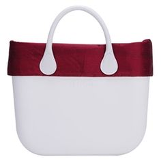 silk fabric trim - red - an O bag classic accessory O Bag, Big Bags, Silk Fabric, Classic, Red, Accessories, Derby, Large Bags, Classical Music