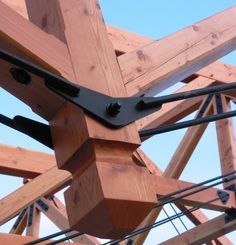 Planed smooth timber & steel framing