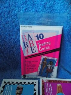 1990 Barbie Doll Trading Cards 1 Unopened Package 10 Cards   eBay