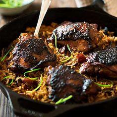 Malaysian Claypot Chicken Rice