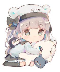 Chibi Kawaii, Loli Kawaii, Cute Anime Chibi, Anime Girl Cute, Kawaii Art, Kawaii Anime Girl, Anime Art Girl, Cute Kawaii Drawings, Anime Girl Drawings