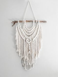 Medium Macrame Wall Hanging // made to order // by theDopeRope