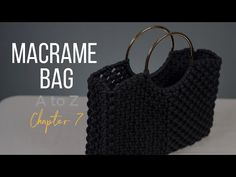[Eng sub]Macrame Bag A to Z - chapter 7. - YouTube