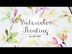 [LVL4] How to Paint Leaves with Watercolor - YouTube More