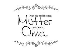 Mama oder Oma... alles Liebe zum Muttertag!