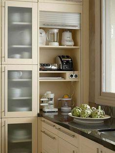 45 Good Smart Small Kitchen Design Ideas - Smart House - Ideas of Smart House - 45 Good Smart Small Kitchen Design Ideas Kitchen Corner, Smart Kitchen, Kitchen Layout, New Kitchen, Kitchen Decor, Kitchen Small, Kitchen Ideas, Awesome Kitchen, Hidden Kitchen