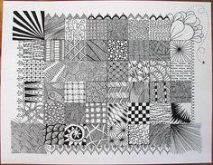 zentangle sampler
