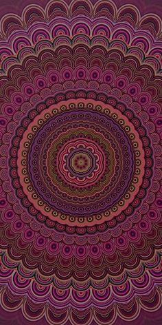 Dark purple mandala Canvas Print by davidzydd Geometric Mandala, Mandala Design, Art Prints For Sale, Framed Art Prints, Free Prints, Mandala Canvas, Mandala Coloring, Colouring, Canvas Art