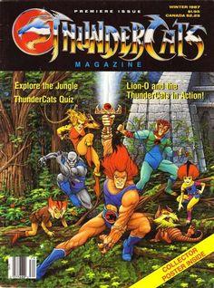 Thundercats magazine. Winter 1987