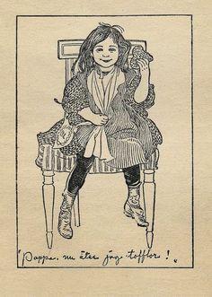 1901  Papa, I'm Eating the Waffle  : Carl Larsson