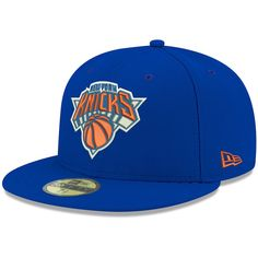 Men s New York Knicks New Era Royal Official Team Color 59FIFTY Fitted Hat b9362ae76bb