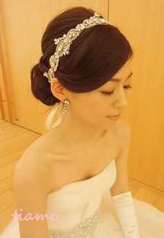 美人花嫁さまの素敵な3スタイル♡前編♡ | 大人可愛いブライダルヘアメイク 『tiamo』 の結婚カタログ