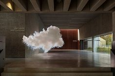 L〰Berndnaut - Created indoor clouds and photographs them. http://hifructose.com/2014/01/05/indoor-clouds-created-by-berndnaut-smilde/