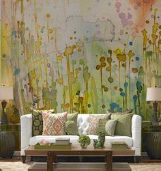 INSPIRATION: Watercolor Walls
