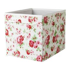 DRÖNA floral patterned Box, Size 33x38x33 cm, Perfect for everything from newspapers to clothes. DRÖNA http://www.amazon.co.uk/dp/B00KGIZ78G/ref=cm_sw_r_pi_dp_s7KWwb1PGXXPR
