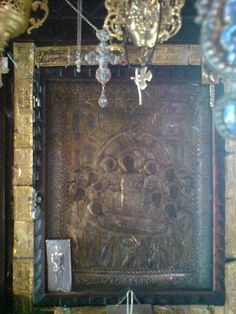 The wonderworking and myrrh-streaming icon of Panagia Malevi