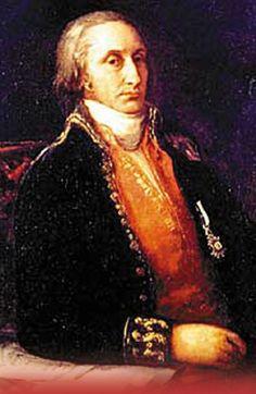 Retrato del Marqués de Sargadelos atribuido a Goya
