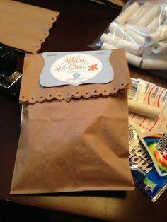 Destination wedding - survival kit (DIY)