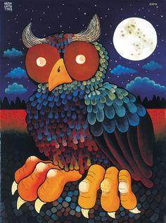 Gufo - Artwork by Guido Vedovato.