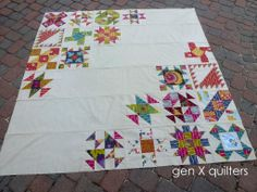 Gen X Quilters - Quilt Inspiration | Quilting Tutorials & Patterns | Connect: Sisters' Ten BOM: Assemble the Quilt Top