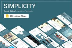 Simplicity Google Slides Presentation Template reduces your work by supplying templates designed with busy entrepreneurs in mind. With 200 fully editable slides, the Pitch Deck Bundle provides you with the template you need to deliver a strong...