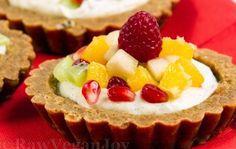 Tarta raw cu fructe tropicale Raw Vegan Recipes, Healthy Recipes, Healthy Foods, Food Inspiration, Wordpress, Cheesecake, Vegetarian, Joy, Desserts