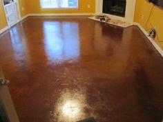 painted concrete floor - beautiful!      Great step by step instructions!    Google Image Result for http://1.bp.blogspot.com/-Tu-aqaD2_1U/TvyyLgPXvjI/AAAAAAAAAJI/Mj4SWxjxD5A/s1600/325106_10150656966742907_579272906_12109849_684641449_o.jpg