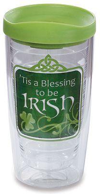 Tis A Blessing to be Irish Tumbler