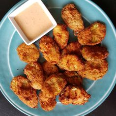 Fried pickles with an almond flour based breading try #2. Not bad, but I have come to the conclusion that almond flour doesn't crisp enough for fried pickles. Still enjoyable  #lazylowcarb #keto #cooking #pickles #friedpickles #eat #diet #ranch #food #foodpics #yum #diet #lchf #weightloss #lowcarb #atkins