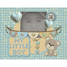 My Little Boy 11x8.5Photobook by LLL Creations. This beautiful photobook has 20 pages including front and back cover! Just drop in your pictures for a quick book OR add pages for a larger book. The best part is you get all the backgrounds and embellishments separately also so you can add, take away, change things and use in other projects.  #scrapbooking #digitalscrapbooking #boys #photobook #LLLCreations