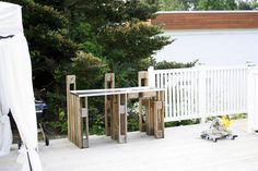 Pergola, Deck, Palette, Outdoor Structures, Outdoor Decor, Google, Home Decor, Decoration Home, Room Decor