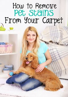 Blog post at Tammilee Tips : Carpet Cleaning Pet Stains  We love our pets. They bring us so much joy and laughter and true friendship with no strings attached (well, o[..]