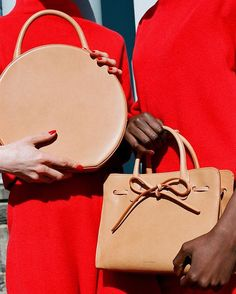 Mansur Gavriel Circle Bag via Grazia
