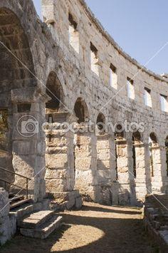 Rome Rome Architecture, Round Arch, Sidewalk, Sidewalks, Pavement, Walkways