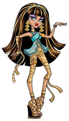 Cleo DeNile younger sister of Nefera denile princess of Egypt