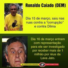 Caiado! Outra saga de um manifestante safado! #ZeloteNaGlobo
