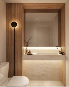 Home Room Design, Home Interior Design, House Design, Interior Colors, Minimalist Toilets, Lavabo Design, Bathroom Design Inspiration, Country House Interior, Bathroom Design Luxury