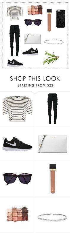 """SimPle WomEn"" by thelittleprincesse ❤ liked on Polyvore featuring Alexander Wang, Haider Ackermann, NIKE, Michael Kors, Sonia Rykiel, Jouer, tarte and Suzanne Kalan"