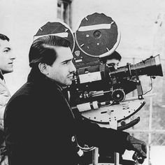 Martin Scorsese behind the scenes of his first feature film 'Who's That Knocking At My Door' 1967