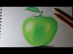 Cómo Aprender A Dibujar A Lápiz Paso A Paso [La Guía Más Completa] Fruit Painting, Apple, Drawings, Online Video, Youtube, Cami, Tips, Arts Plastiques, Pastel Pencils