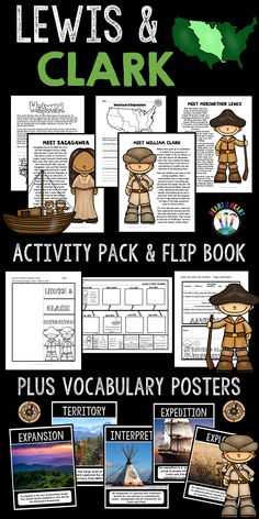 Students will love learning about Lewis and Clark and their famous expedition with this activity pack!  This unit includes many interactive activities and learning opportunities for students including reading passages about: *Western Expansion *Lewis & Clark Expedition *The Team Hires Sacagawea *The Expedition is a Great Success