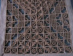 Italian Needlework: Different Styles of Reticello - Part One