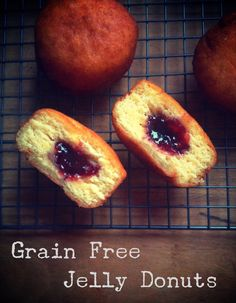 Grain Free Jelly Filled Donuts