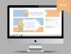 Personalização de Loja Plataforma Elo 7 Art Tolentini