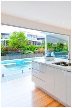 Open up vast spaces with Wideline\u0027s robust Paragon Aluminium bi-fold design. Doors by  sc 1 st  Pinterest & Bi-Fold Doors www.wideline.com.au | Bi-fold Doors | Pinterest | Bi ...