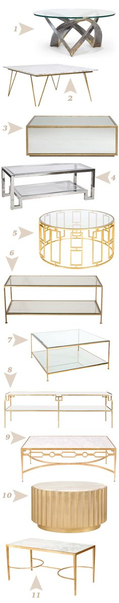22 of the Best Coffee Tables, Part 1